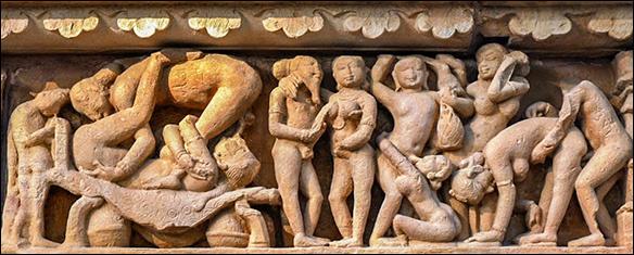 Khajuraho sculptures